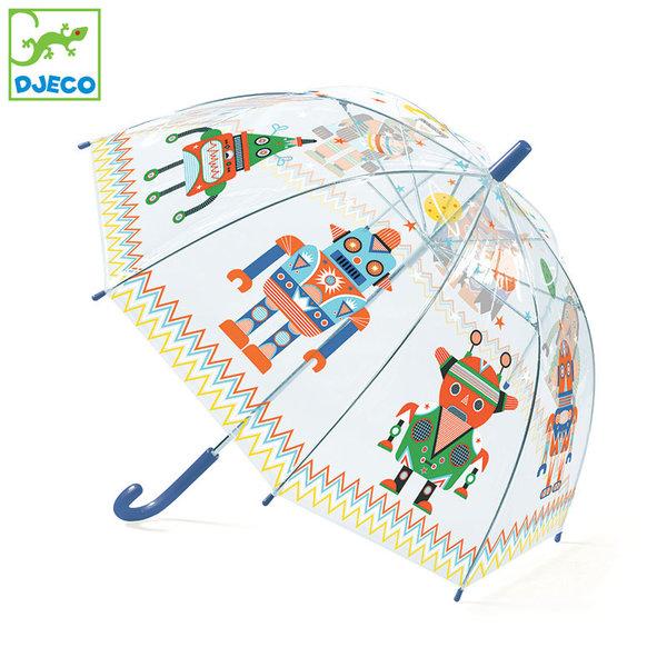 Djeco - Детски чадър Роботи DD04806