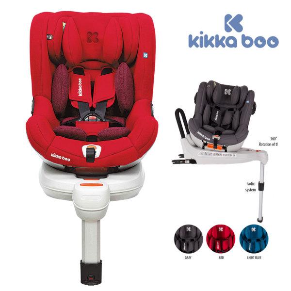 Kikka Boo - Стол за кола от 0 до 18 кг Roll & Go с Isofix Red31002030019
