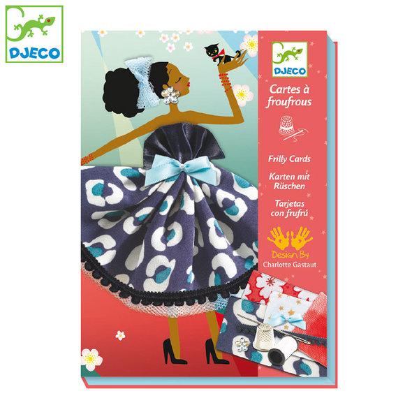 Djeco - Детски комплект за шиене Париж DJ08675