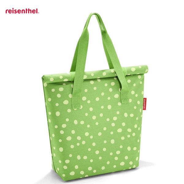 Reisenthel - Spots Green Дамска термо чанта Fresh lunchbag iso L OU5039