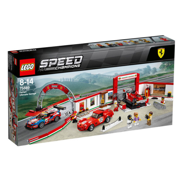 Lego 75889 Speed Champions - Ферари Гараж
