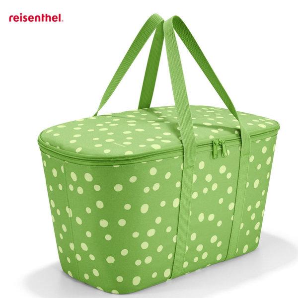 Reisenthel - Spots Green Охладителна чанта Coolerbag UH5039