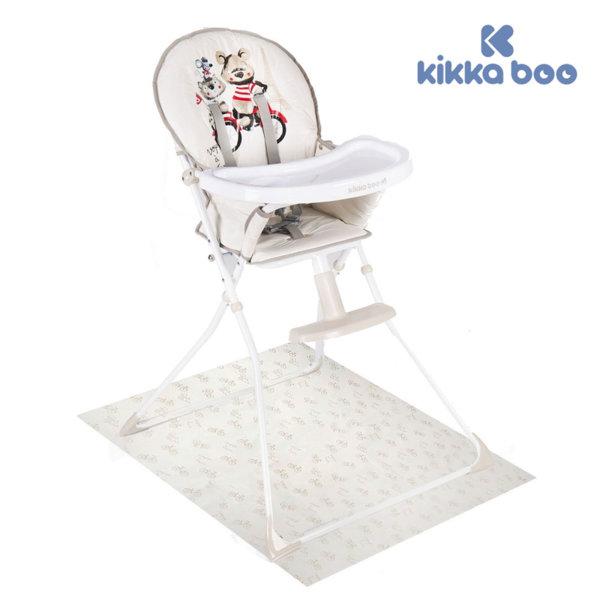 Kikka Boo - Стол за хранене Be Happy с предпазна постелка Bear 31004010043