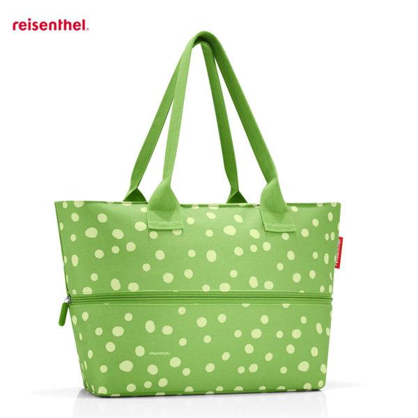 Reisenthel - Spots Green Дамска чанта Shopper E1 RJ5039