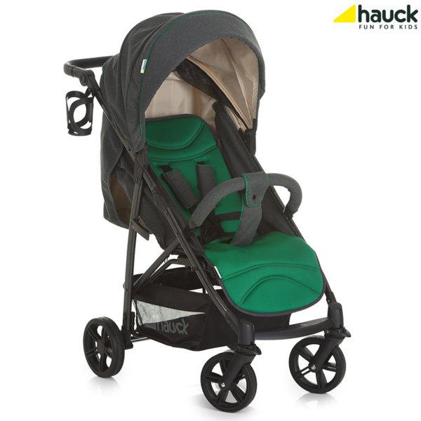 Hauck - Бебешка количка Rapid 4S Caviar Emerald 148334