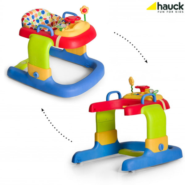 Hauck - Проходилка и уолкър 2в1 с музикален панел Dots 643044