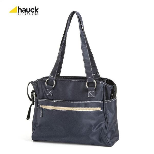 Hauck - Чанта за количка с подложка за повиване City Black 524107