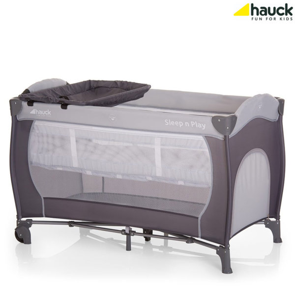 Hauck - Бебешка кошара 2 нива Sleep'n Play Center Stone 600535