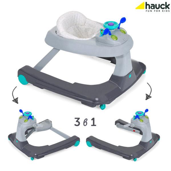 Hauck - Проходилка, уолкър и кола за бутане с крачета 3в1 Ride On 1-2-3 643051