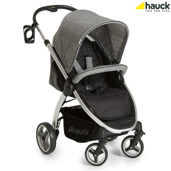 Hauck - Бебешка количка Hauck Lift up4 Melange Grey 148068