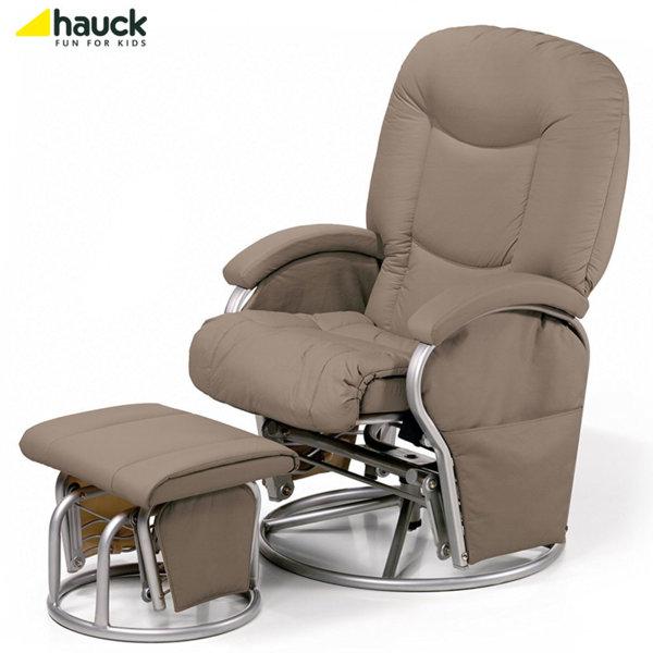 Hauck - Cтoл зa къpмeнe Metal Glider Recline creme 687017
