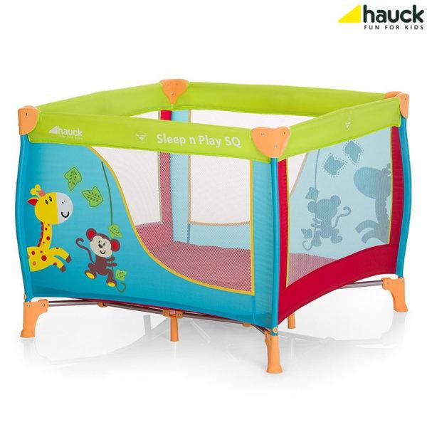 Hauck - Бебешка кошара Sleep'n Play SQ Jungle Fun 606117