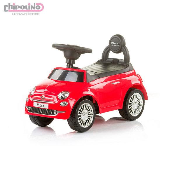 Chipolino - Кола за яздене Фиат 500 червена