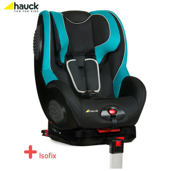 Hauck - Cтoл зa кола Guardfix с Isofix Black Aqua (9-18кг) 615034