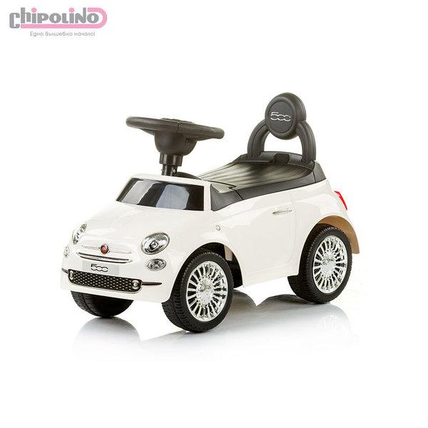 Chipolino - Кола за яздене Фиат 500 бяла