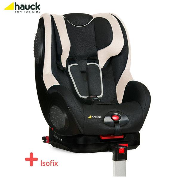Hauck - Cтoл зa кола Guardfix с Isofix Black Beige (9-18кг) 615010