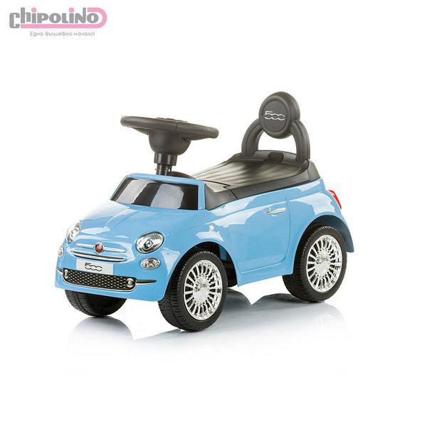 Chipolino - Кола за яздене Фиат 500 синя