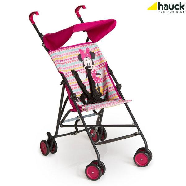 Disney Hauck - Лятна количка Sun Plus Disney Minnie Geo Pink 113769