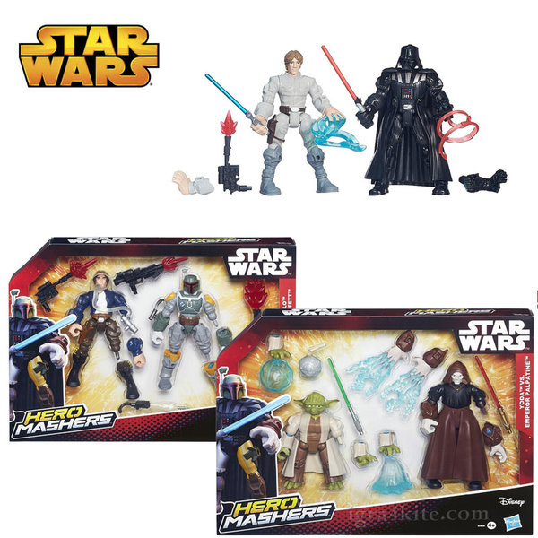 Hasbro Star Wars - Hero Mashers Комплект за игра с 2 фигурки b3827