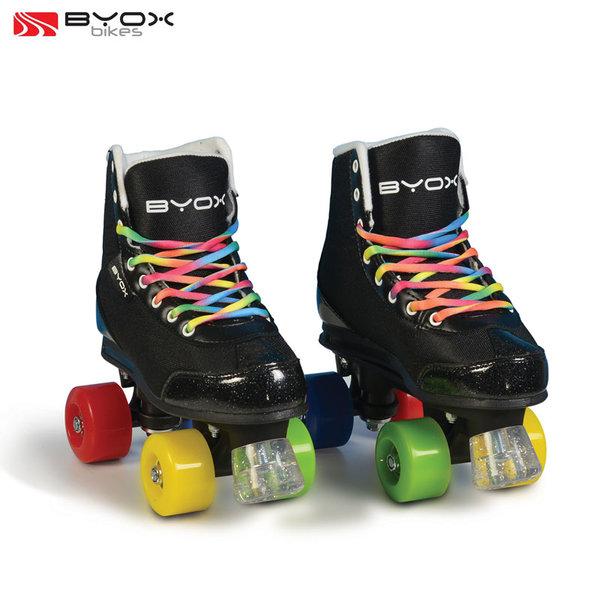 Byox Bikes - Детски ролкови кънки Rainbow XL (38-39) 106340