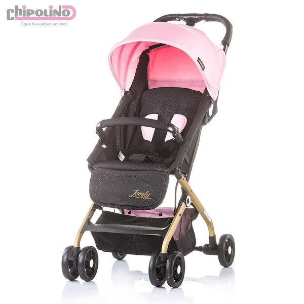 Chipolino - Лятна бебешка количка Ловли розова