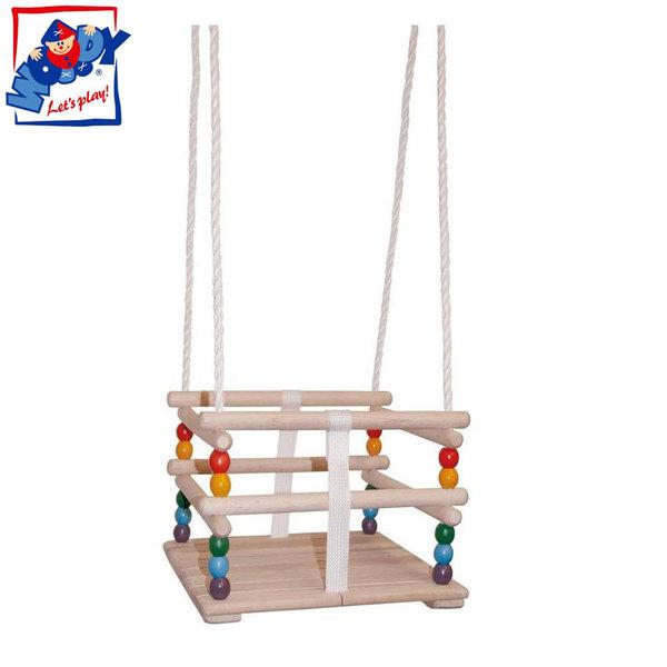 Woody - Детска дървена люлка 10315