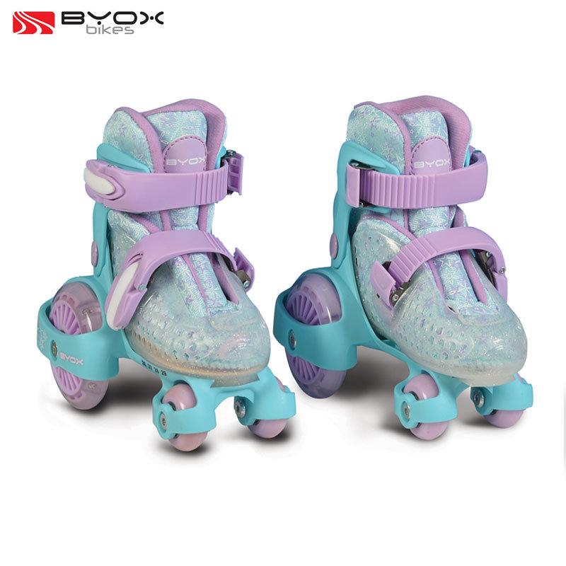 e2a21f5e846 Byox Bikes - Детски ролкови кънки светещи Little Beetle Frozen Girl XS  (26-29) 106332 - Детски играчки от igra4kite.com
