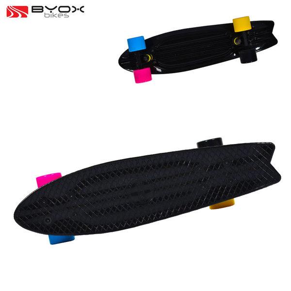 """Byox Bikes - Скейтборд Pastel 23"""" черен 104061"""