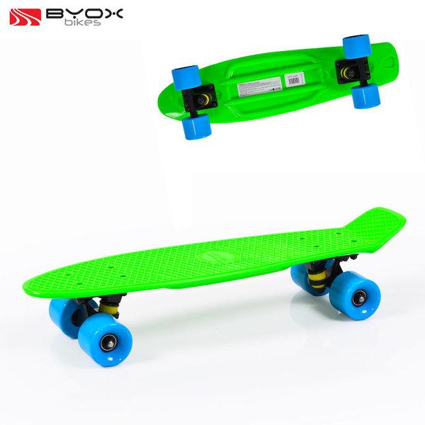 "Byox Bikes - Скейтборд Spice 22"" зелен 104248"