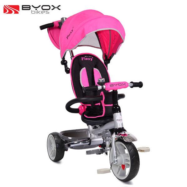 Byox Bikes - Детска триколка Flexy T300 Pink 103667