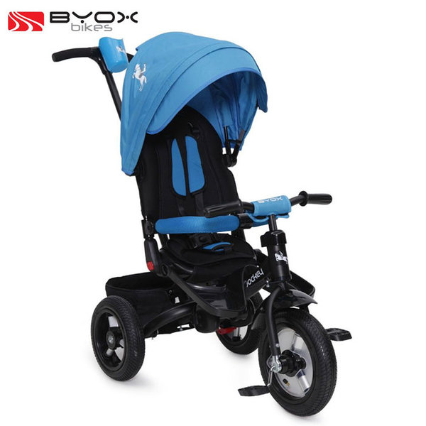 Byox Bikes - Детска триколка JOCKEY AIR Blue 103664