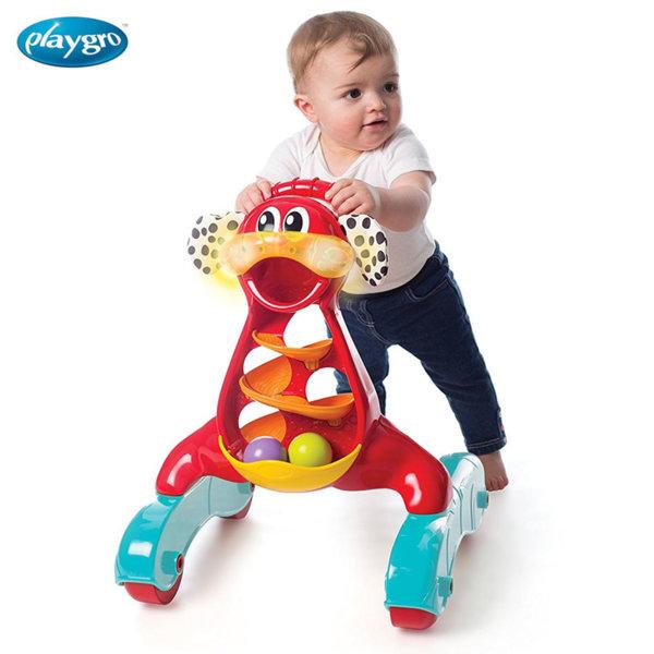 Playgro - Играчка за прохождане Стъпка по стъпка със светлини и звуци 0715
