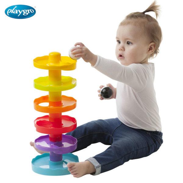 Playgro - Спираловидна кула с топчета 0719