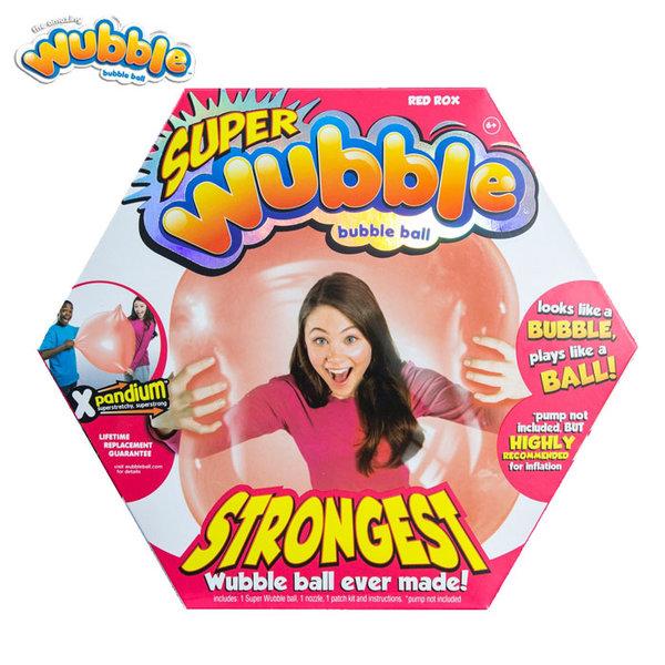 Wubble Bubble - Топка балон Уъбъл Бъбъл Експандиум червен 80910