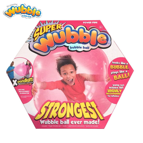 Wubble Bubble - Топка балон Уъбъл Бъбъл Експандиум розов 80910