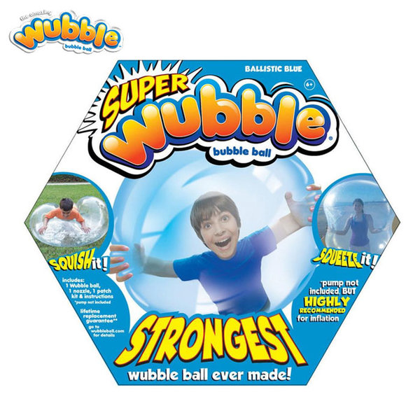 Wubble Bubble - Топка балон Уъбъл Бъбъл Експандиум син 80910
