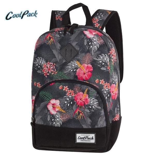 Cool Pack Classic - Ученическа раница Coral Hibuscus A091