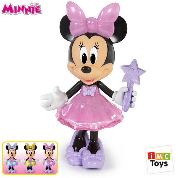 IMC Toys - Disney Minnie Mouse Интерактивна Кукла Мини Маус Magic Touch със звук и светлина 182578