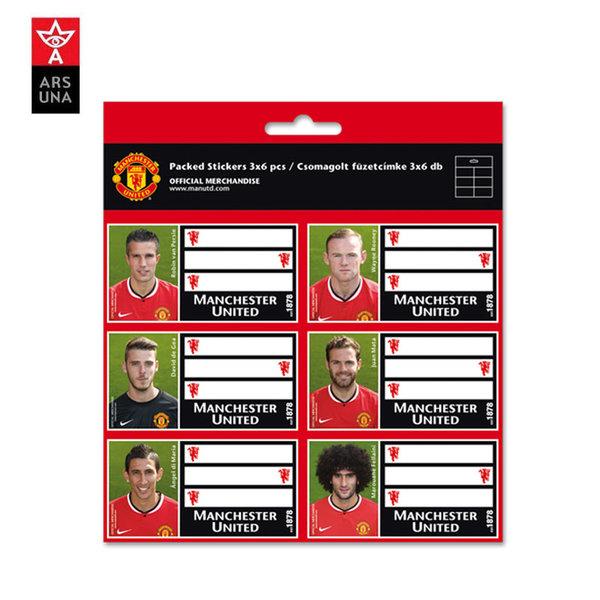 Manchester United - Ученически етикети Манчестър Юнайтед 93836999