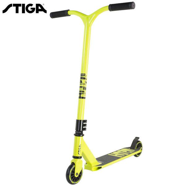 Stiga - Спортен скутер Trick Sooter HOOD Lime green 7456-09
