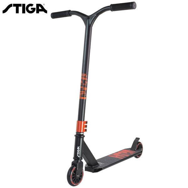 Stiga - Спортен скутер Trick Sooter HOOD Black 7456-01
