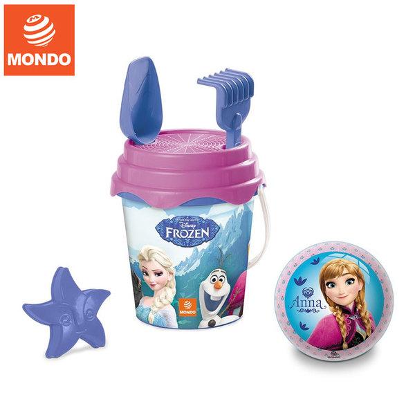 Mondo - Детска кофа с формичка и топка Frozen Замръзналото кралство 28237