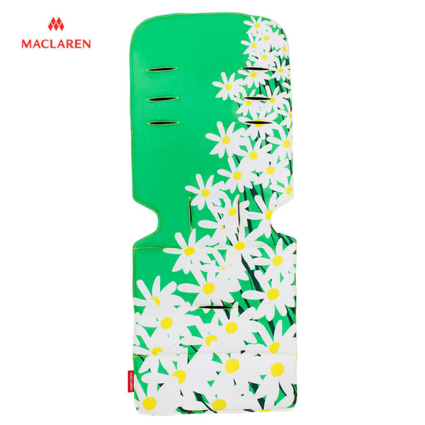 MacLaren - Подложка за количка Universal Green Grey Daisy 31902