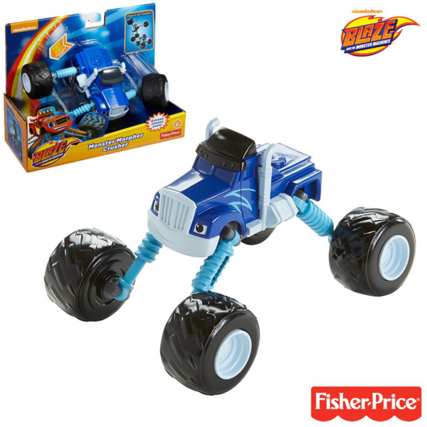 Fisher Price Blaze and the Monster - Трансформираща се количка Crusher DGK59
