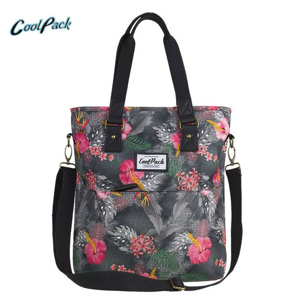 Cool Pack Amber - Чанта за през рамо Coral Hibiscus 92401