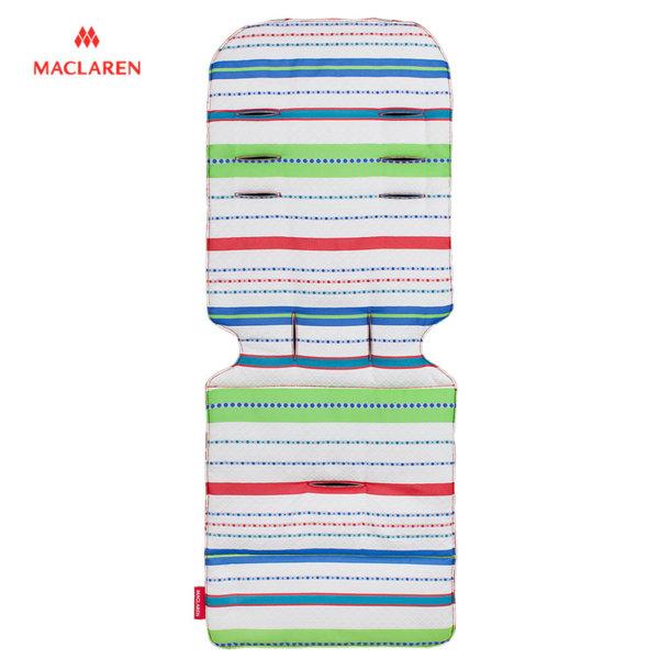 MacLaren - Подложка за количка Universal Marseilles Stripe green 33122