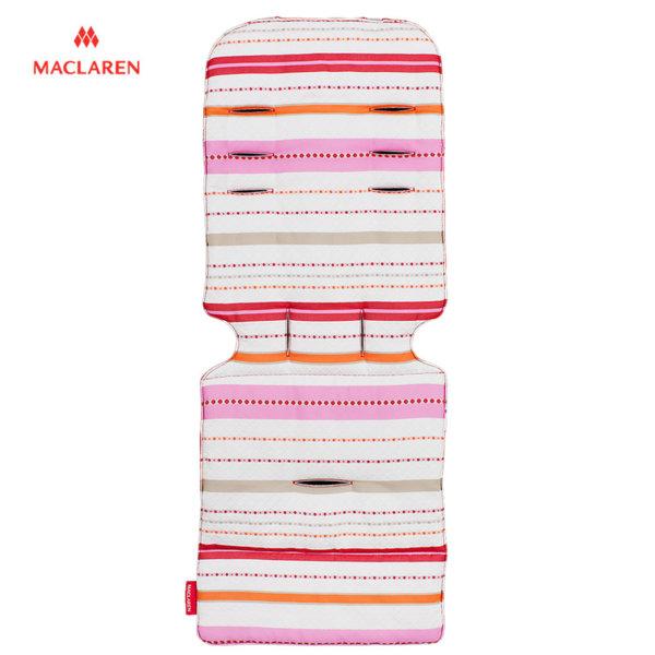 MacLaren - Подложка за количка Universal Marseilles Stripe pink 33132