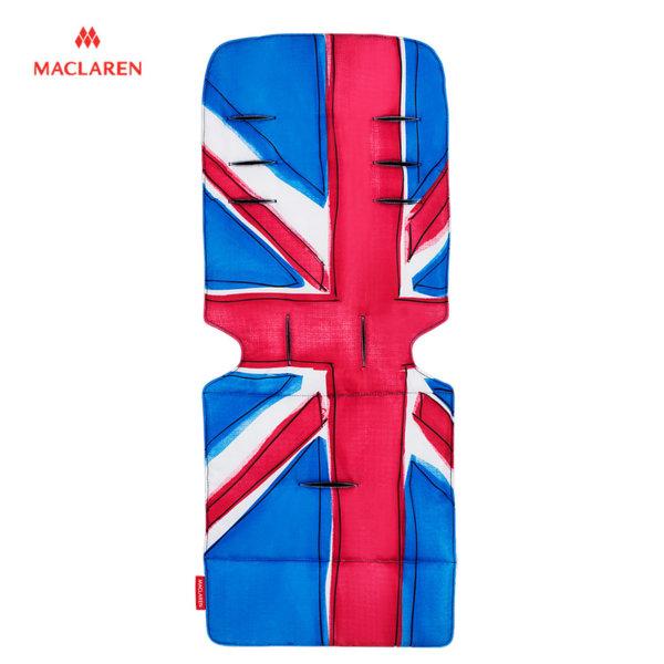 MacLaren - Подложка за количка Universal Union Jack princess blue 31872