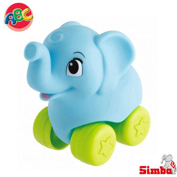 Simba - Roll'n Rail Играчка слонче за бутане 104010083