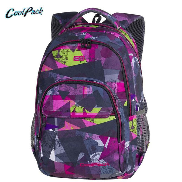 Cool Pack Basic Plus - Ученическа раница Pink Abstract A143